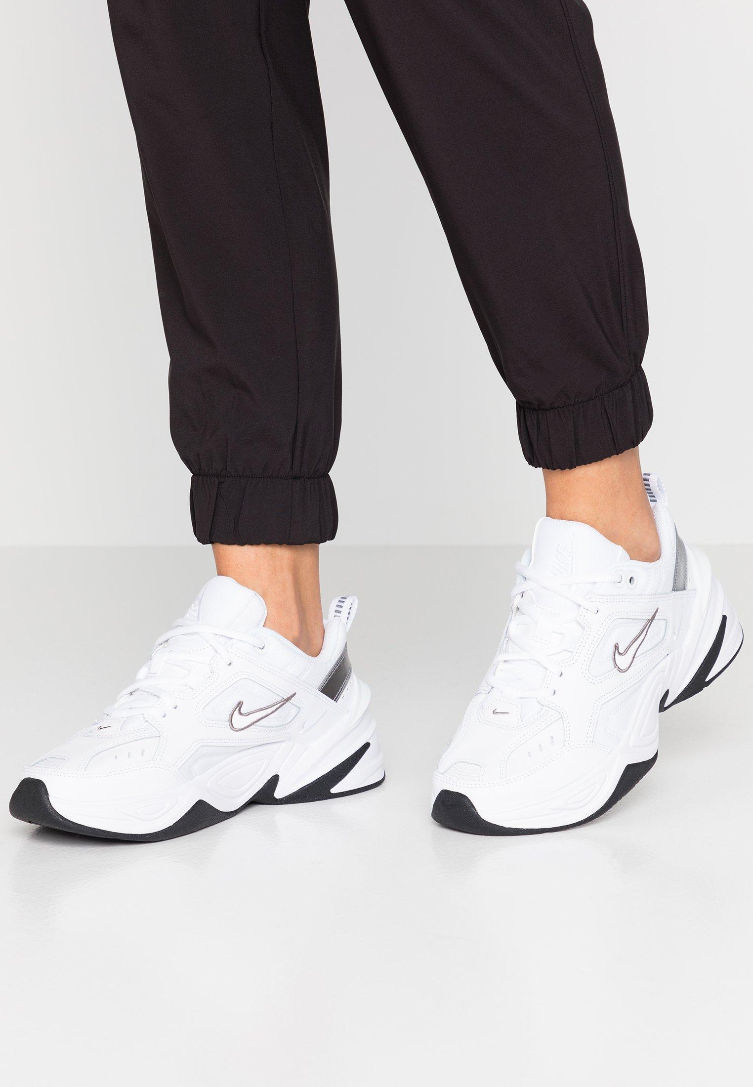 Ladrillo panel Seminario  Nike Sportswear M2K TEKNO - Trainers - white/cool grey/black/white - Zalando .co.uk