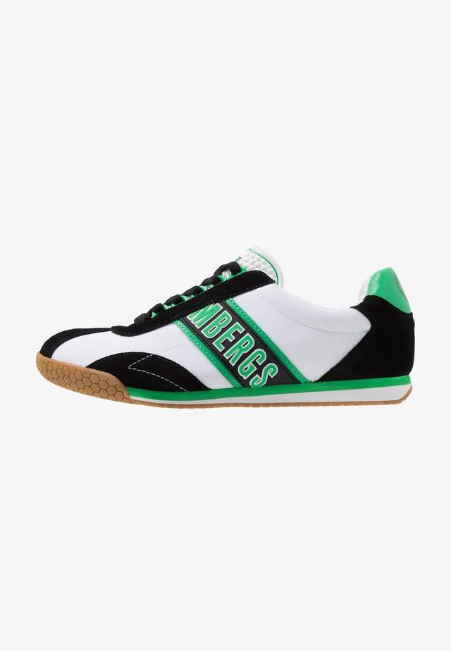 ENEA - Matalavartiset tennarit - white/black/green