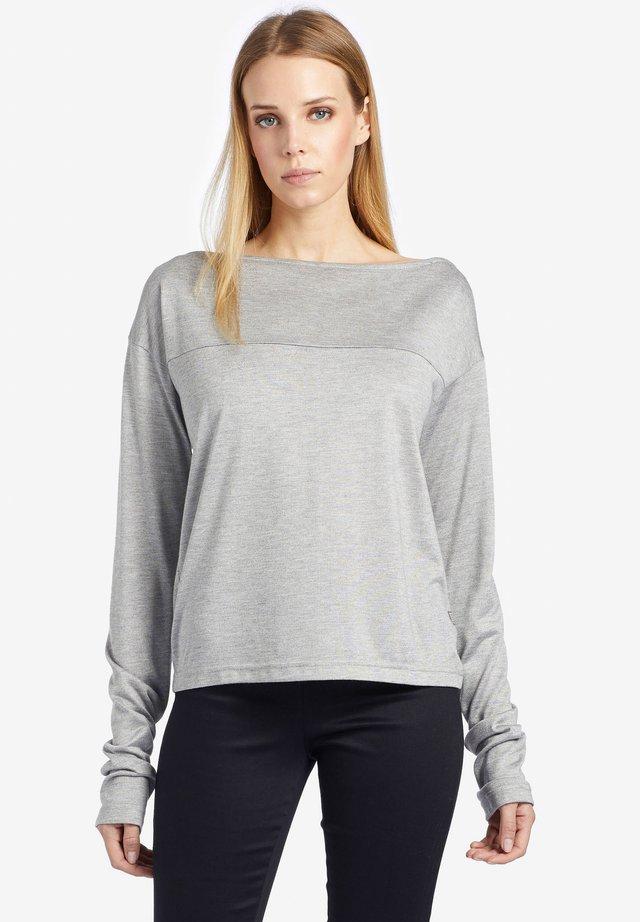 CORNELA - Longsleeve - light grey