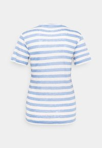 Marc O'Polo - SHORT SLEEVE ROUND NECK SLIM FIT STRIPED - T-shirts med print - mutli/washed cornflower - 1