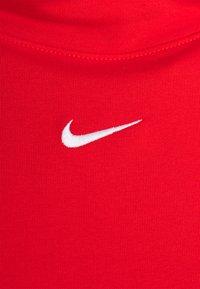 Nike Sportswear - MOCK TOP - Camiseta de manga larga - chile red/white - 2