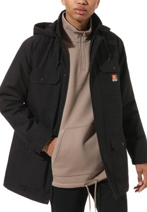 MN 66 SUPPLY LONG DRILL CHORE COAT MTE - Parka - black