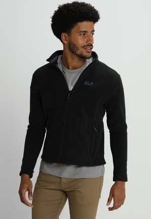 MOONRISE JACKET MEN - Fleecová bunda - black
