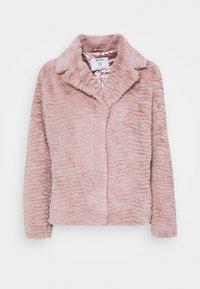 Dorothy Perkins Petite - WAVE COLLAR AND REVERE COAT - Winter jacket - pink - 0
