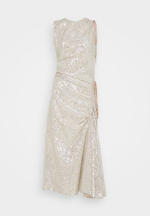 SEQUIN DRESS - Cocktail dress / Party dress - silver