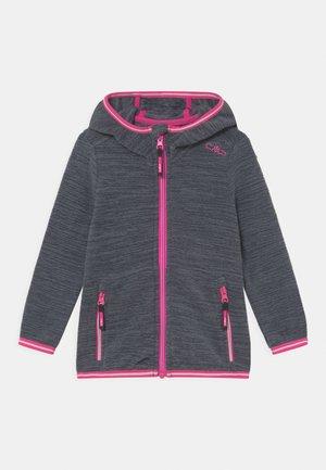 KID FIX HOOD UNISEX - Fleece jacket - grey