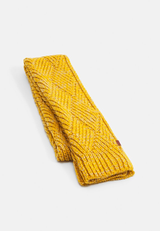 SCARF - Šála - yellow twist