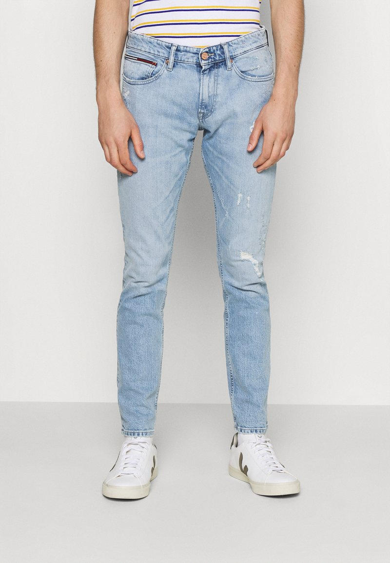 Tommy Jeans - SCANTON SLIM - Slim fit -farkut - denim
