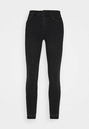 MILLER STUDDED - Jeans Skinny Fit - black