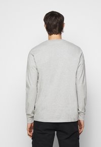 forét - WIND LONGSLEEVE - Long sleeved top - light grey melange - 2