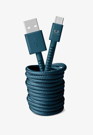 USB - USB-C FABRIQ CABLE - Charging cable - petrol blue