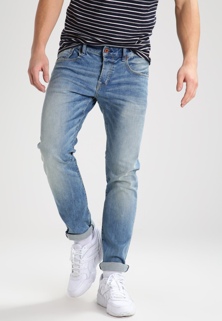 Scotch & Soda - Slim fit jeans - blue denim