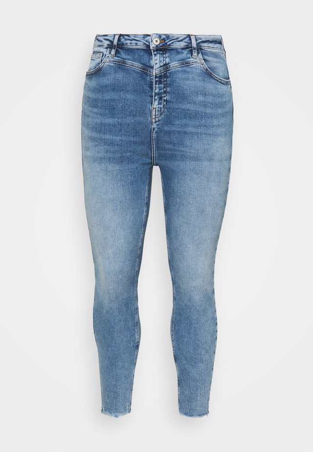 Jeansy Skinny Fit - light auth