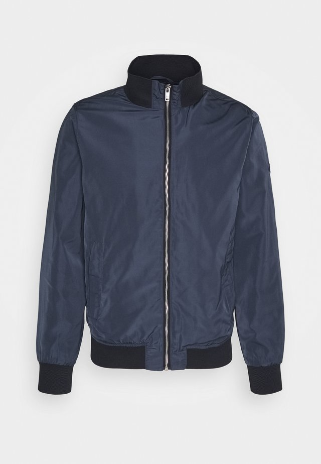 MAHARDRON - Bomber Jacket - dark navy
