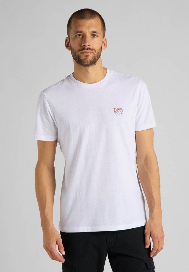 SS SMALL - T-shirt basic - white