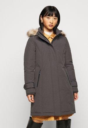 COAT - Down coat - slate