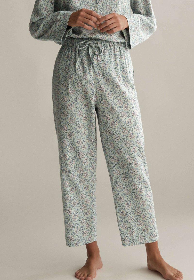 OYSHO - Pyjama bottoms - green