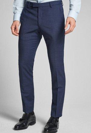 GUN - Pantalon de costume - mottled blue