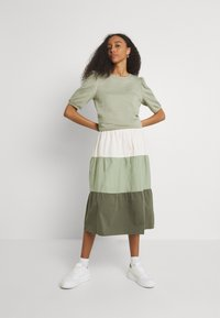 b.young - BXJONA SKIRT - A-line skirt - seagrass mix - 1