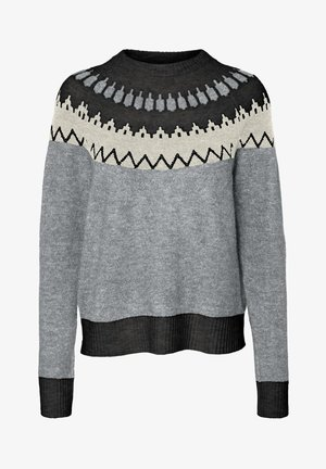 NORDIC - Jumper - light grey melange