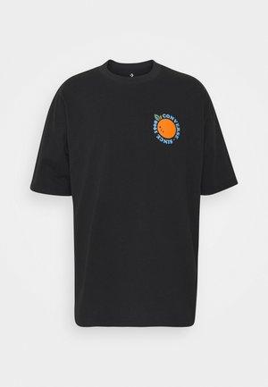 LAST DROP GRAPHIC TEE - Camiseta estampada - black