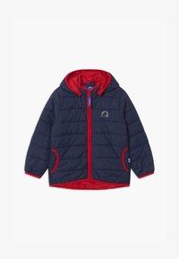Finkid - VANUKAS UNISEX - Winter jacket - navy/red - 0
