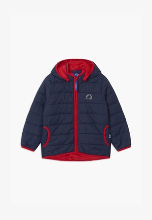 VANUKAS UNISEX - Winterjacke - navy/red