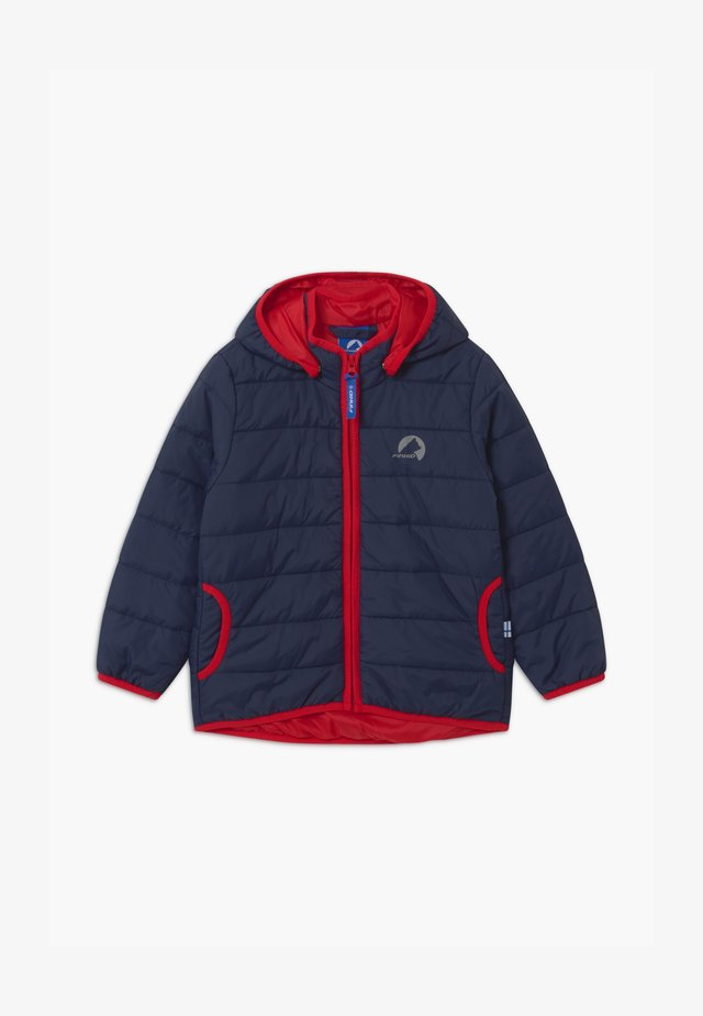 VANUKAS UNISEX - Winter jacket - navy/red