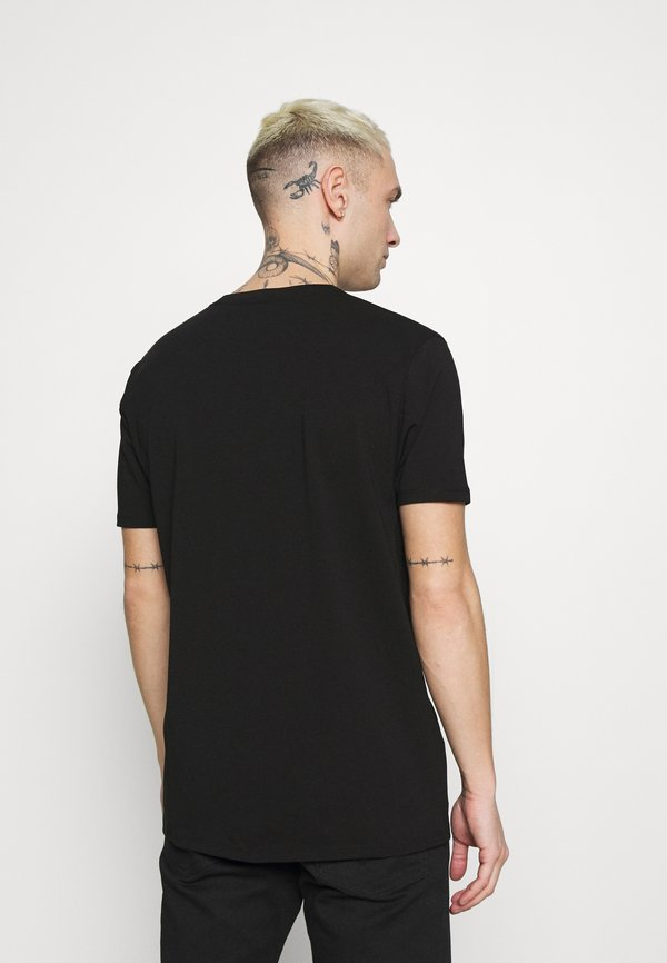 Alessandro Zavetti GROWLER BOLT TEE - T-shirt z nadrukiem - black/czarny Odzież Męska JACD