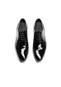 Kazar - OSVALDO - Elegantní šněrovací boty - black - 3