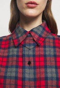 Victoria Beckham - OVERSIZED LUMBERJACK - Košile - red/navy - 7