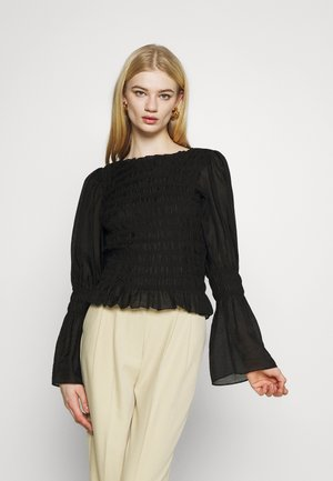 KARIN BLOUSE - Blouse - black