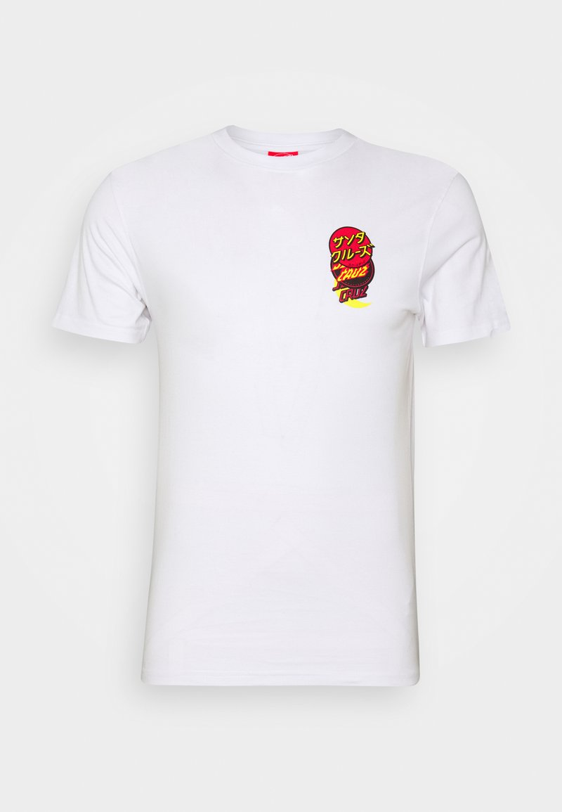 Santa Cruz - UNISEX DOT GROUP - Print T-shirt - white
