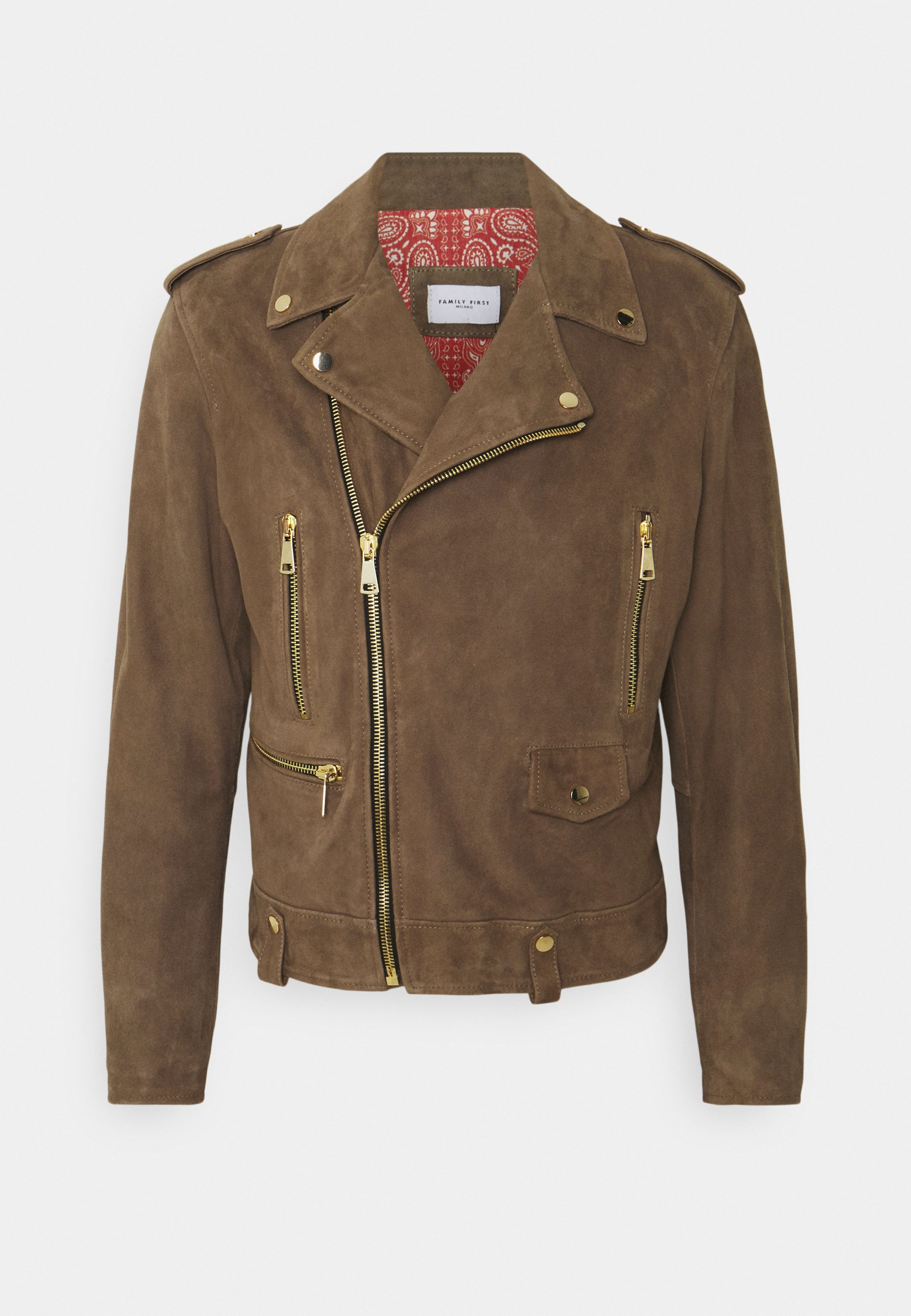 Men BIKER - Leather jacket