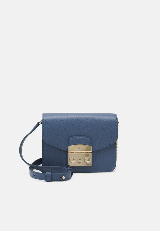 METROPOLIS MINI CROSSBODY - Umhängetasche - blu denim