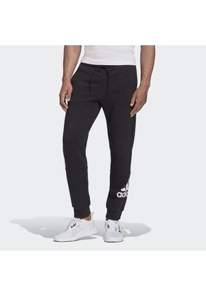 BADGE OF SPORT FRENCH TERRY JOGGERS - Pantalones deportivos - black
