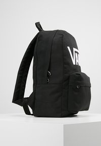 Vans - NEW SKOOL BACKPACK  - Rugzak - black/white - 4