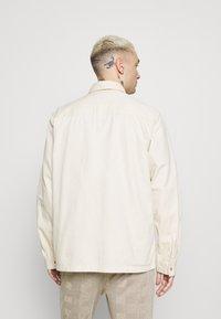 Topman - TWILL - Overhemd - ecru - 0
