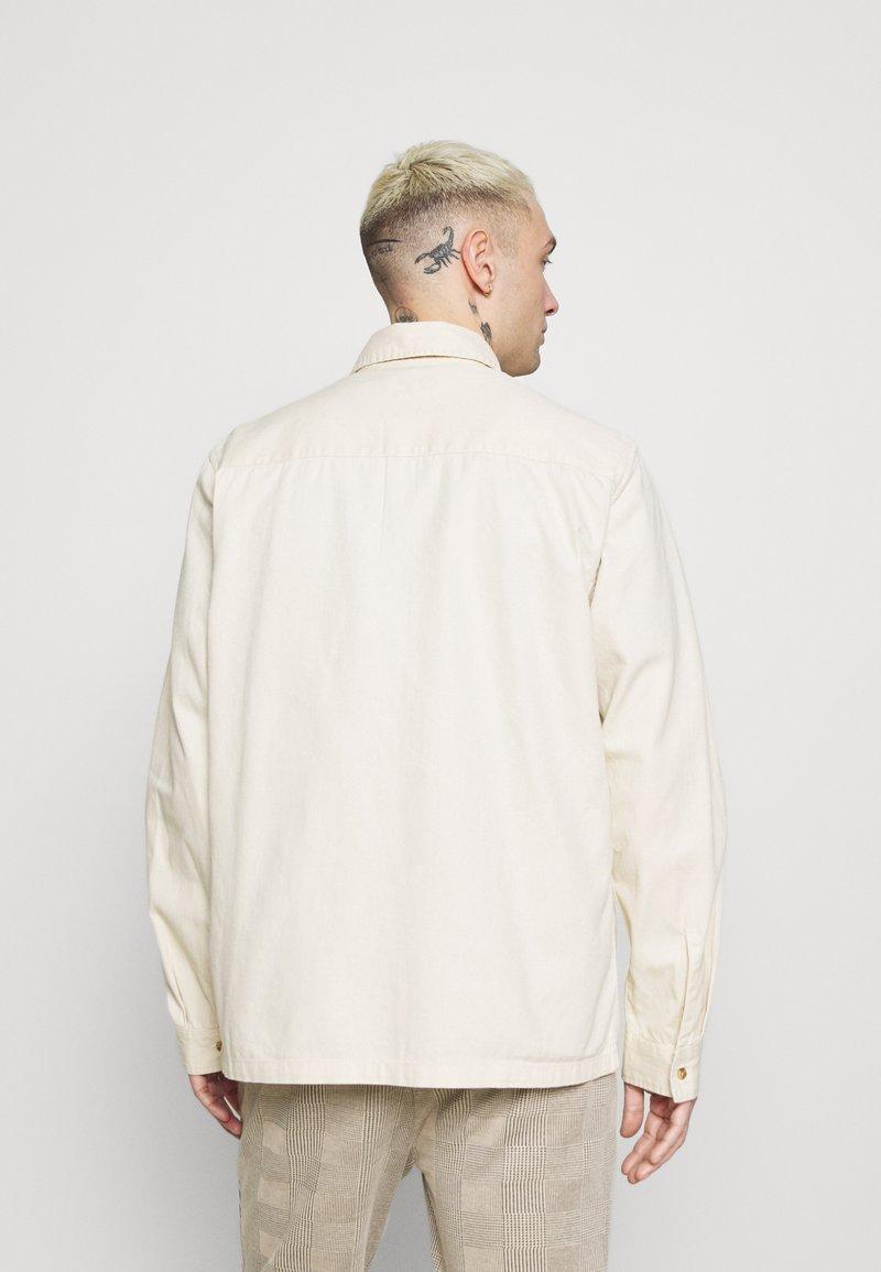 Topman - TWILL - Overhemd - ecru