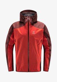 Haglöfs - L.I.M COMP JACKET  - Outdoor jacket - habanero/maroon red - 4