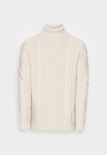 TERENCE TURTLE NECK - Neule - oatmeal