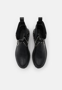 Even&Odd Wide Fit - Kotníkové boty - black - 5