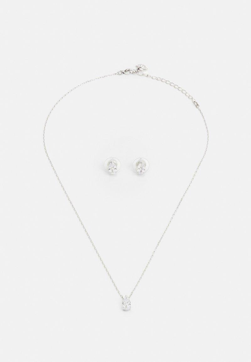 Swarovski - ATTRACT SET - Earrings - silver-coloured