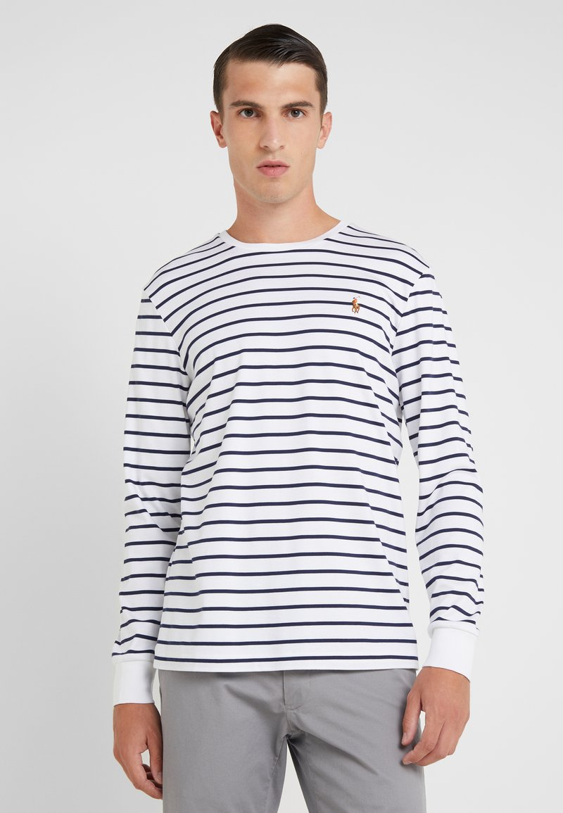 Polo Ralph Lauren - Long sleeved top - white/french navy