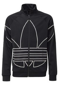 adidas Originals - LARGE TREFOIL TRACK TOP - Trainingsjacke - black - 0