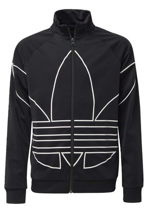 LARGE TREFOIL TRACK TOP - Veste de survêtement - black