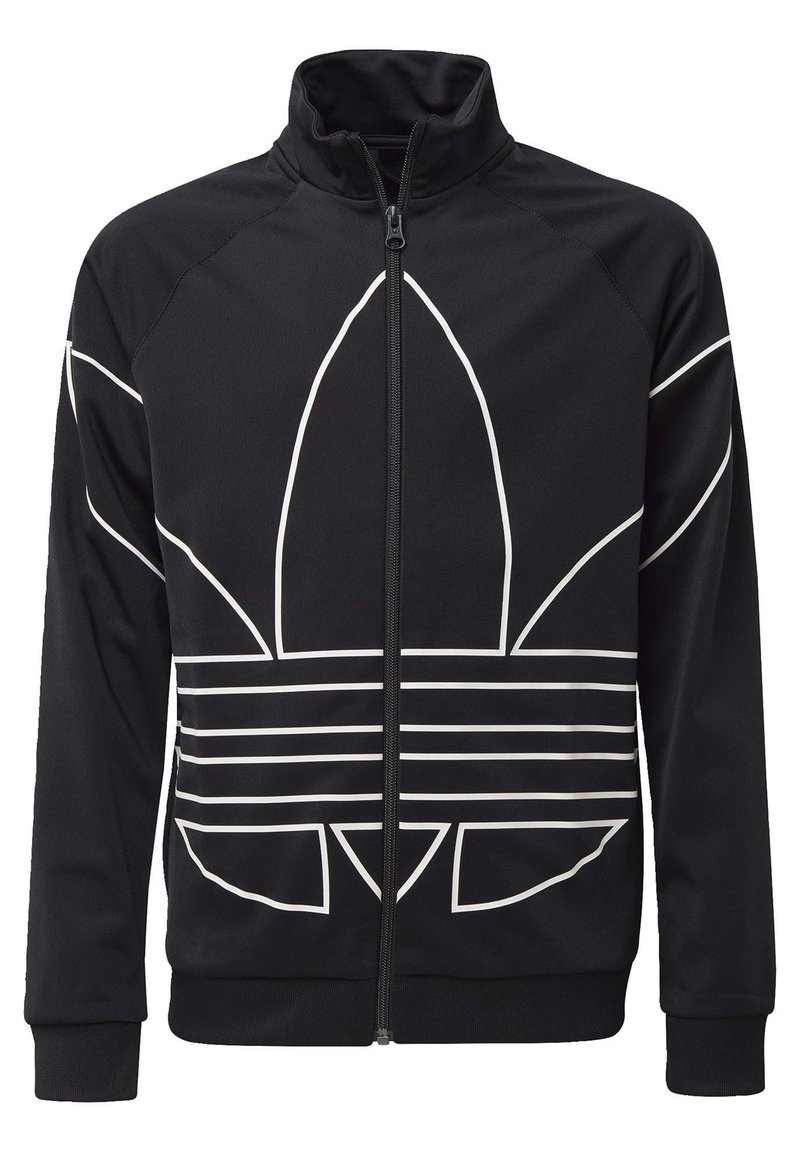 adidas Originals - LARGE TREFOIL TRACK TOP - Trainingsjacke - black