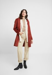 comma - Classic coat - mahagony - 1