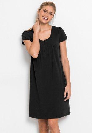 Nachthemd - schwarz