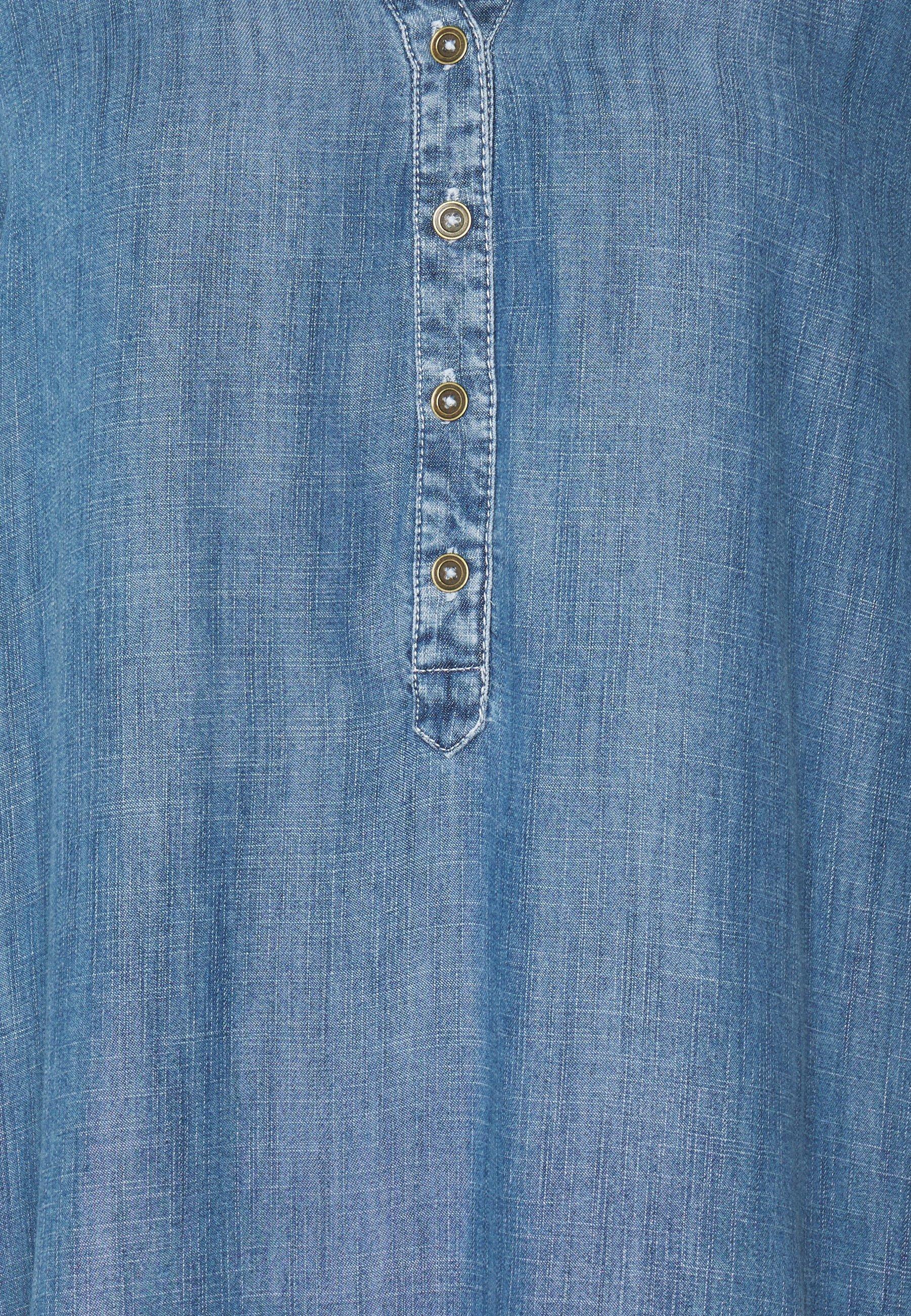 edc by Esprit BLOUSE - Blouse - blue medium wash - Tops & T-shirts Femme eq61x